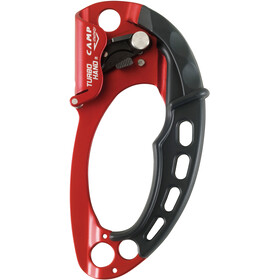Camp Turbohand Descendeur Droite, red